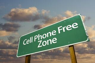 leave your cell phone at home during your sleep study