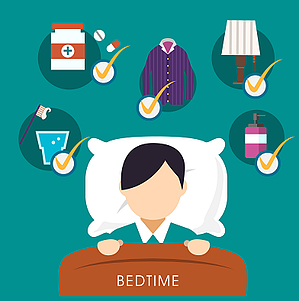 bedtime sleeping habits