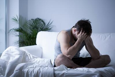 PTSD can lead to significant sleep disorders for veteran soldiers