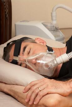 Using a CPAP machine is the gold standard therapy for treating sleep apnea