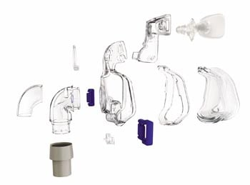 exploded diagram of resmed mirage ultra 2 nasal cpap mask