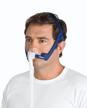 man wearing Swift LT Fitting