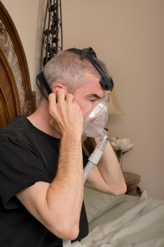 Adjusting to CPAP comes easily to some but most people need time to adapt.