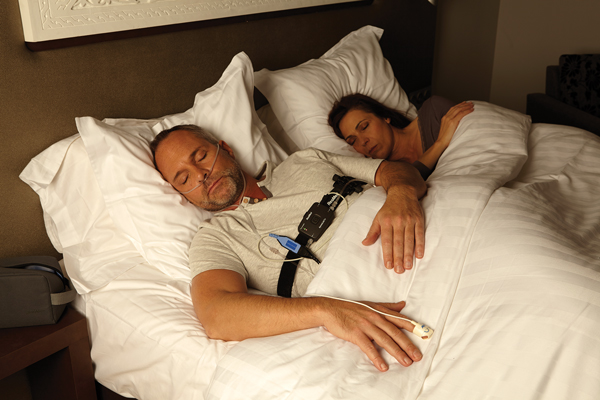 resmed apnea link home sleep test device