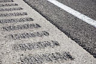 rumble_strips line Kansas highways to help keep people from drifting out of their lanes
