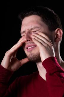 sinus_infection_and_pain can cause you to struggle with cpap or can be the result of using cpap without cleaning it correctly