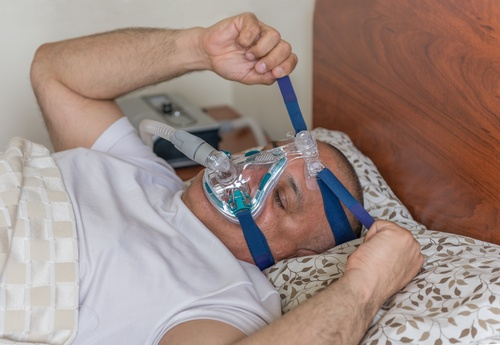 Overtightening a CPAP mask can interfere with fit and performance