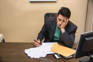 working late hours or dealing with work stress can lead to sleep deprivation