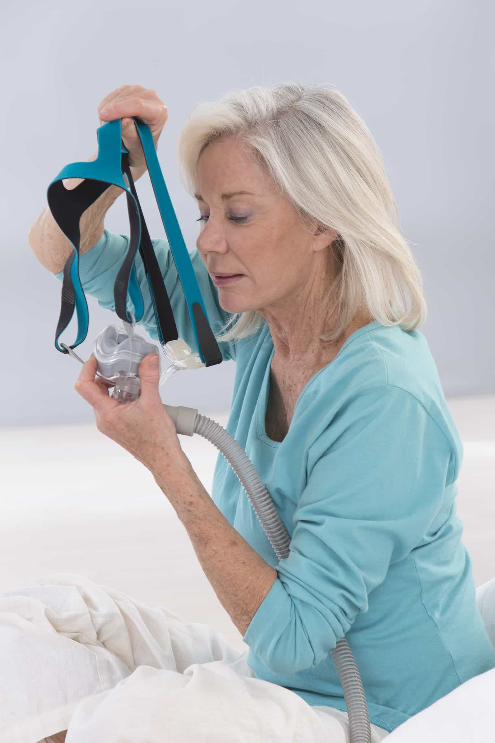 What happens if part of my CPAP sleep apnea mask breaks?